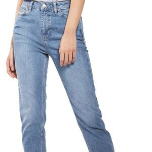 Topshop Orson High Waist Mom Jeans